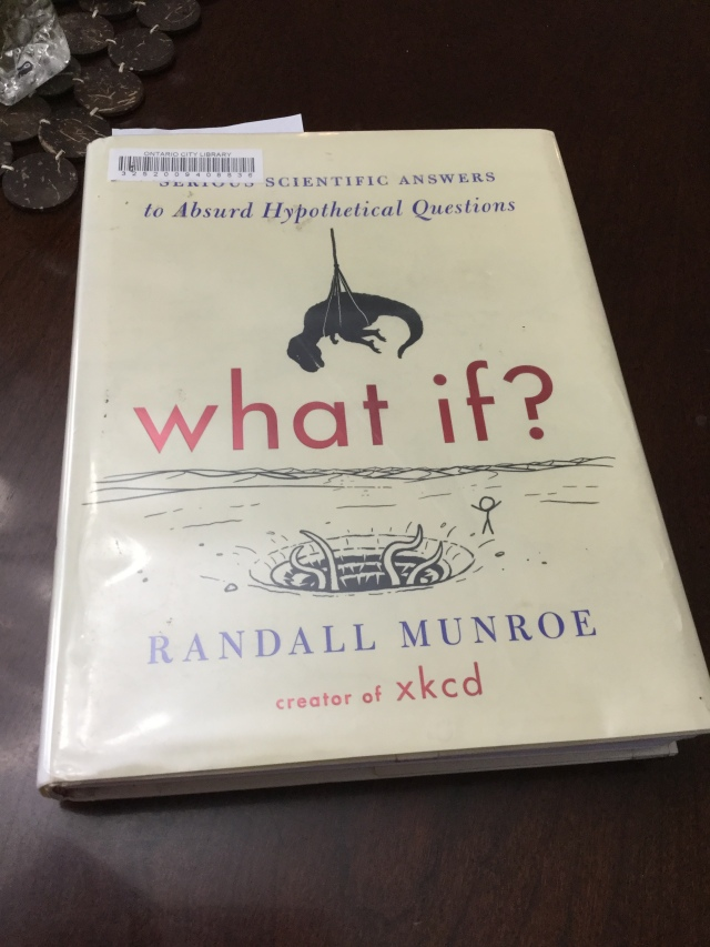 Image of book cover of What If?