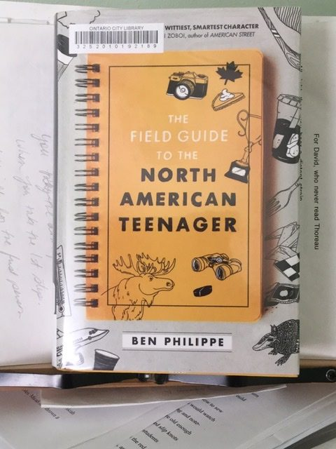 Image of novel 'The Field Guide to the North American Teenager'